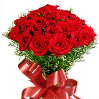 Bouquet com 24 rosas